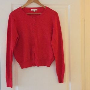 Cabi Red Sweater Style 297